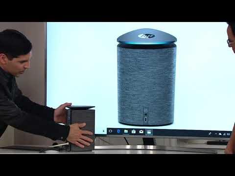 HP Pavilion Wave Desktop - Core i5, 8GB 1TB HDD256GB SSD Alexa on QVC