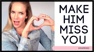 Video How to make a man crave you | How to make him miss you | ask Renee MP3, 3GP, MP4, WEBM, AVI, FLV Juli 2019