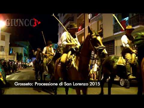 San Lorenzo in processione: l'emozione dei grossetani per la festa del patrono