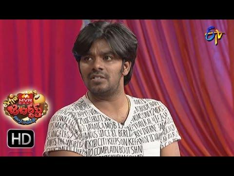Sudigaali Sudheer Performance | Extra Jabardsth | 31st March 2017 | ETV  Telugu