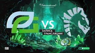 Optic vs Liquid, The International 2018, game 2