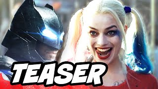 Suicide Squad Batman Teaser Breakdown and Harley Quinn Rebirth