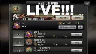 Walking Dead : Road to Survival - CROSS REGION WAR - UPDATE!!!