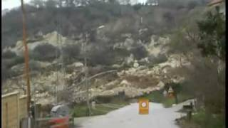Terrifying Mudslide In Italy