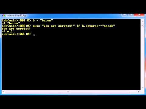 Ruby Programming Tutorial - 21 - Multiple Line String Variables