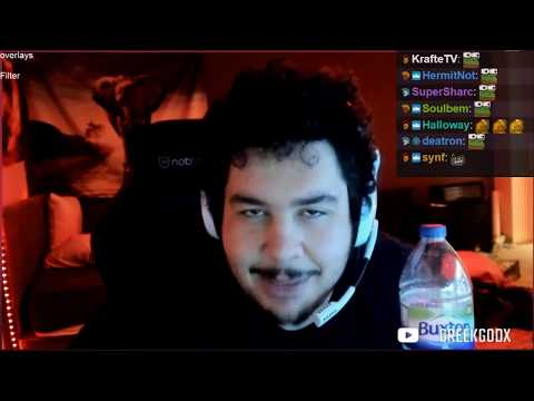 GREEKGODX REACTIONS TO TWITCH FAILS #41 (COCONUTB SAVES EROBB FROM EDATING)