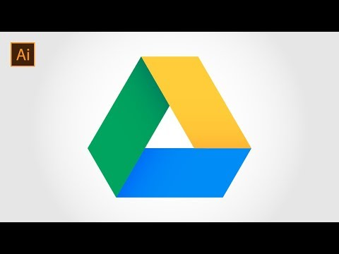 Come Creare Il Logo Di Google Drive | Illustrator CC Tutorial
