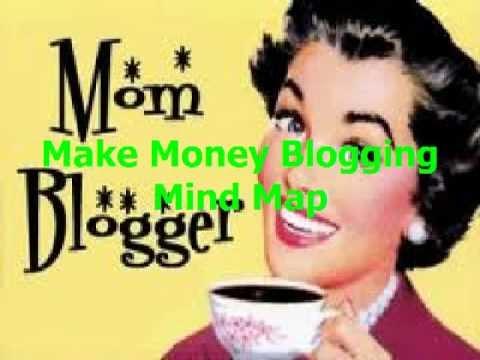 Make Money Blogging Mind Map | Make Money Blogging Teenagers