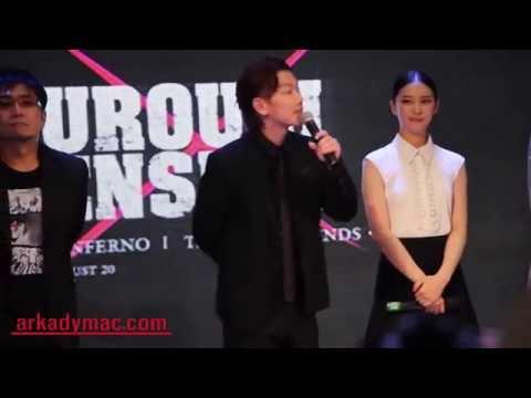 Rurouni Kenshin Cast in Manila