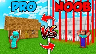 Minecraft NOOB vs. PRO : SWAPPED SECURE BASE in Minecraft (Compilation)