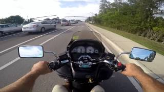 4. 2006 Burgman 400 Type S - Test Helmet Mouth Cam Naples Florida FL