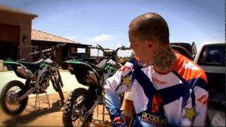 7. Twitch and His New KX450F(2010)Plus Maintenance With Ben Foster - Part 2