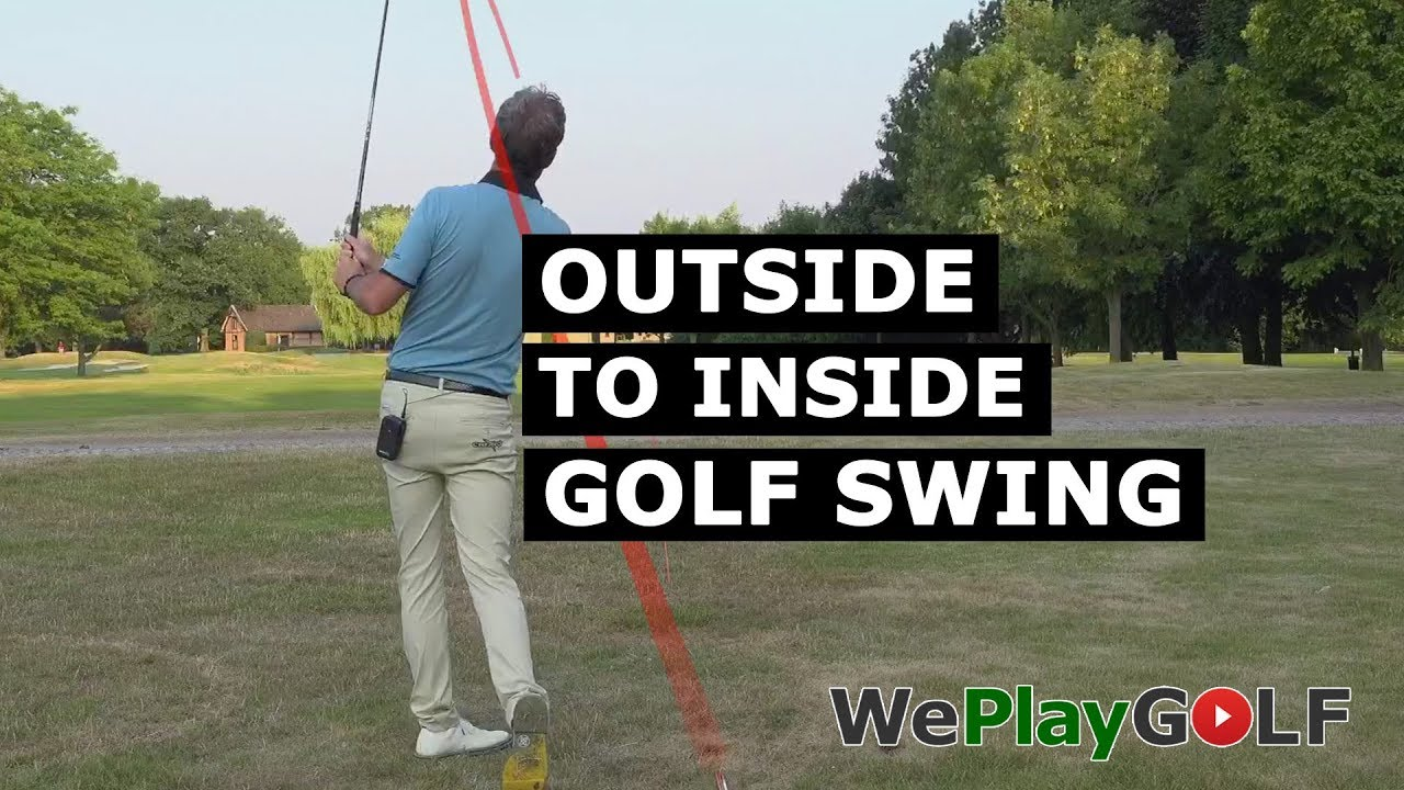 Outside to Inside golf swing - How can you swing from out to in?