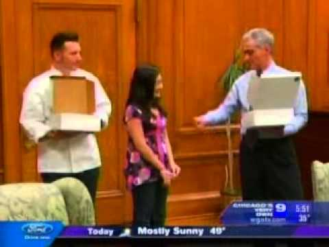 WGN News: Namaste Student Meets Mayor Emanuel
