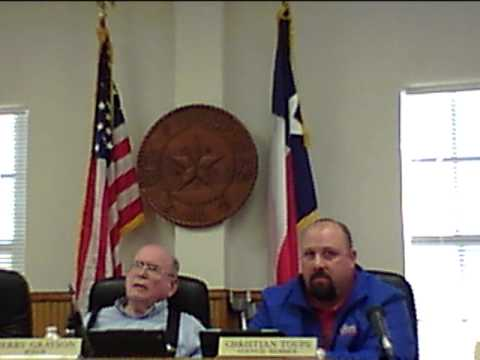 City Council - Heated council meeting.