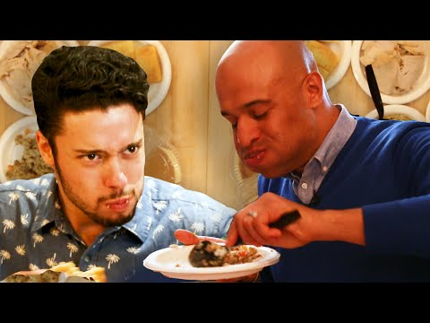 Regular People Vs. Competitive Eater: Thanksgiving Dinner