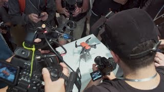 On May 24th, 2017, at an exclusive event at Grand Central Terminal in the heart of Manhattan , DJI unveiled the Spark- the first mini drone packed with intelligent features, obstacle avoidance, and palm control. See how DJI fans and newcomers alike flocked to Grand Central to experience Spark for themselves.Subscribe:  http://www.youtube.com/user/djiinnovations?sub_confirmation=1Like us on Facebook:  https://www.facebook.com/DJIFollow us on Twitter:  http://www.twitter.com/DJIglobalFollow us on Instagram:  http://www.instagram.com/DJIglobalWebsite:  http://www.dji.com/