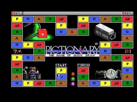 Pictionary Atari