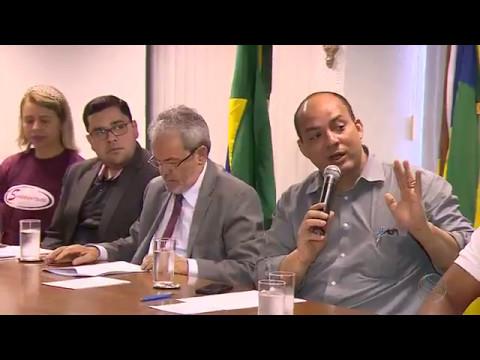 Servidores da saúde municipal participam de reunião no Tribunal de Contas de Sergipe