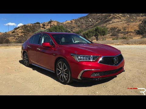 2018 Acura RLX Sport Hybrid AWD  – Back To Regain Some Relevance