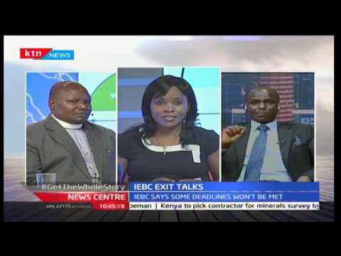 News Centre: IEBC exit talks(part 2), 30/9/2016