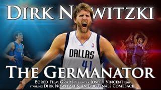 Dirk Nowitzki - The Germanator by Joseph Vincent