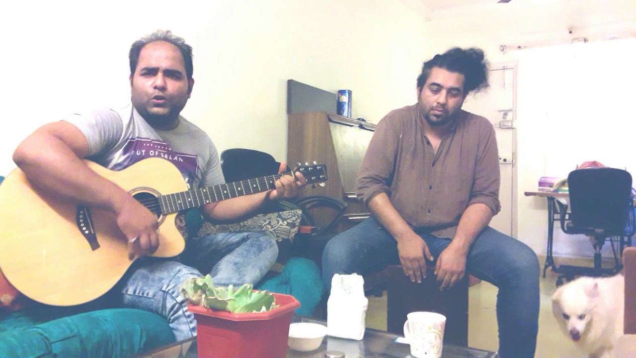Zalima cover- bollywood home jam- cajon and guitar-akash jaiswal and Joyddeep kqumar