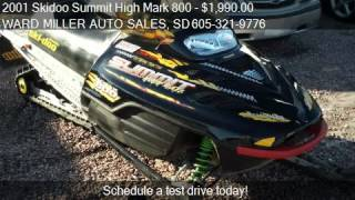 10. 2001 Skidoo Summit High Mark 800 151 Track - for sale in , S