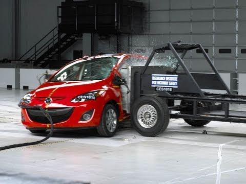 Mazda 2 Mazda 2 side impact crash test 2011