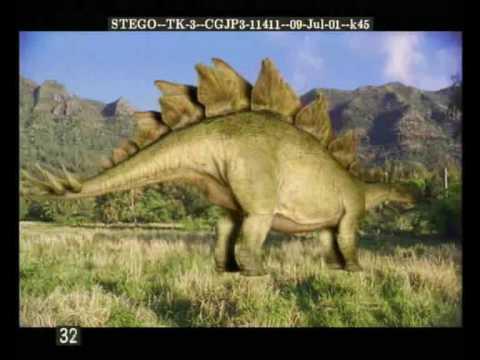 Jurassic Park - Dinosaurs 3D models
