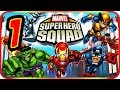 Marvel Super Hero Squad Walkthrough Part 1 ps2 Psp Wii