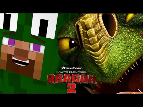 Minecraft – HOW TO TRAIN YOUR DRAGON 2 – [2] 'Visiting the Dragons'