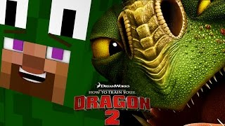 Minecraft - HOW TO TRAIN YOUR DRAGON 2 - [2] 'Visiting the Dragons'