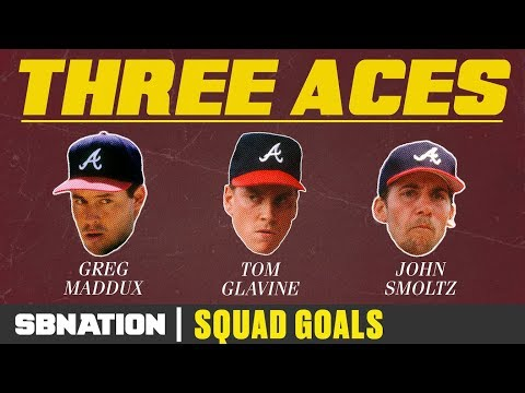 Atlanta's Big Three dominated baseball for a decade