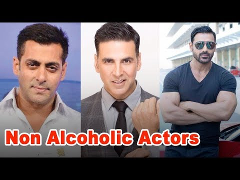 10 Bollywood Actors Who Are NON ALCOHOLIC In Real