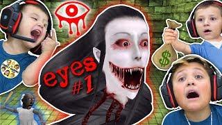 EYES!!!! EVERYWHERE!!!!!  (FGTEEV gets GURKEY w/ Chase, Shawn & Mike)
