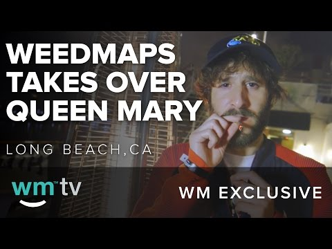 Weedmaps Takes Over the Queen Mary