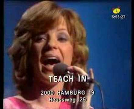teach - Teach In in Disco studio in W. Germany.