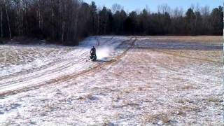 6. Arctic cat F8 sno pro done up by D&D racing