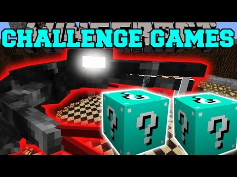 Minecraft: ALIEN CHALLENGE GAMES - Lucky Block Mod - Modded Mini-Game