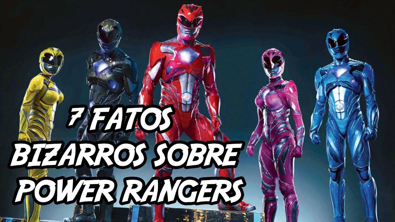 7 fatos bizarros que você não sabia sobre Power Rangers