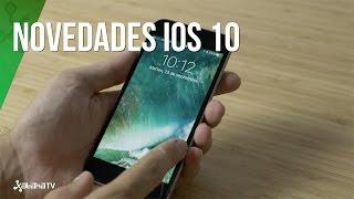 iOS 10, conoce las novedades