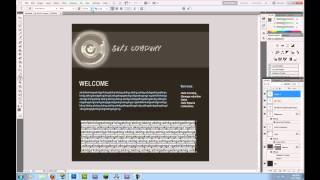 How To Design A Website In Photoshop Tutorial