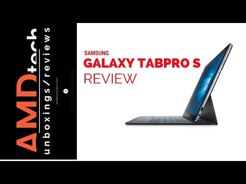 Samsung Galaxy TabPro S Review (4K)