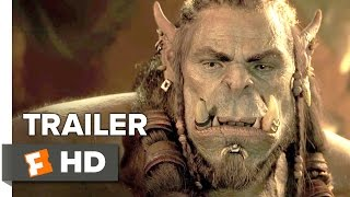 Warcraft Official Trailer #1 (2016) - Travis Fimmel, Dominic Cooper Movie HD