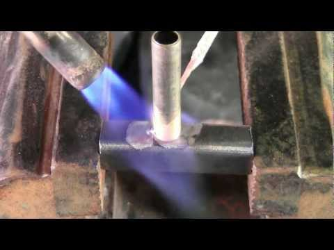 Brazing Steel to Brass with  Propane Torch