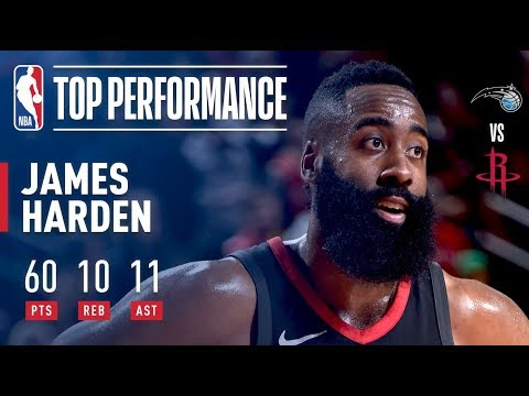 James Harden's 60-Point Triple-Double (First in NBA History) | January 30, 2018