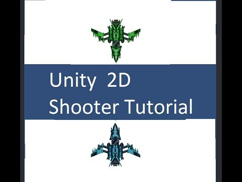 Unity 2D Shooter Game Tutorial (Galaga, Space Invaders) - смотреть