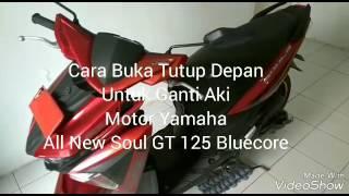 Video Cara Ganti Aki Yamaha All New Suol GT 125 Bluecore MP3, 3GP, MP4, WEBM, AVI, FLV April 2017