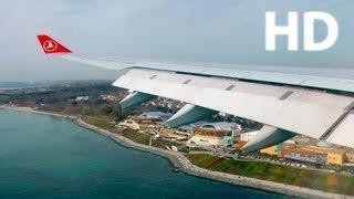 Video Turkish A330 Istanbul Landing - GoPro Hero3 + Panasonic TM900- THY A330 İstanbul Harika İniş 1080p MP3, 3GP, MP4, WEBM, AVI, FLV November 2018